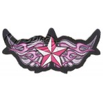 Winged Star Mini Patch