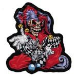 "Skull Jester patch 5.75""x6.25"""
