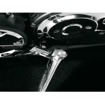 Cache chromé de béquille pour Yamaha (voir liste motos)