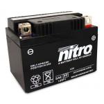 Batterie NITRO pour moto YTX12-BS