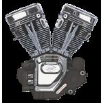 Boc moteur S&S T111 T2 Noir