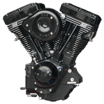 S&S V111 engine w/IST & Super E Black