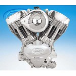 S&S X117 X-Wedge engine Silver coated